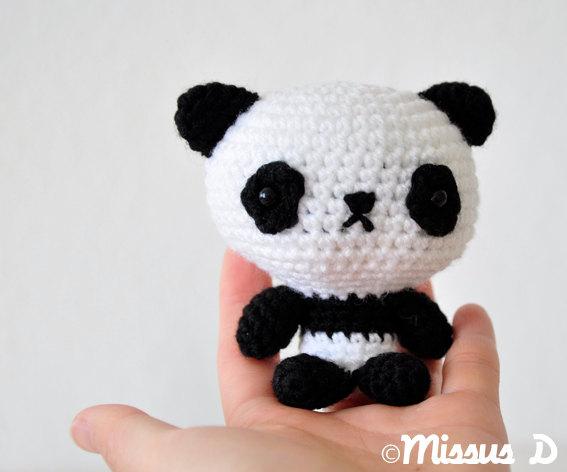 Crochet Panda Amigurumi Plush Toys For Kidults By Missus D On Luulla